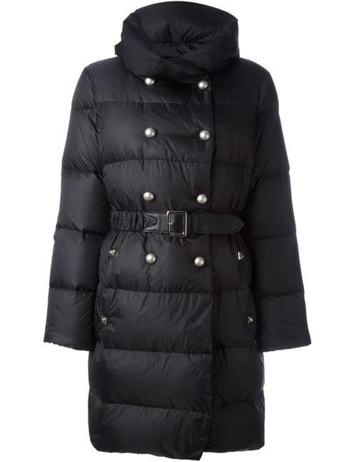 Ermanno Scervino | Женское Чёрный Belted Padded Coat