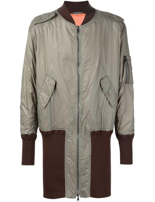 Vivienne Westwood | Мужское Серое Пальто-Бомбер Wadded Ma-1