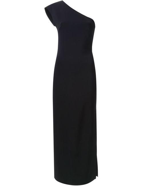 SCANLAN THEODORE | Женское Чёрное Платье На Одно Плечо
