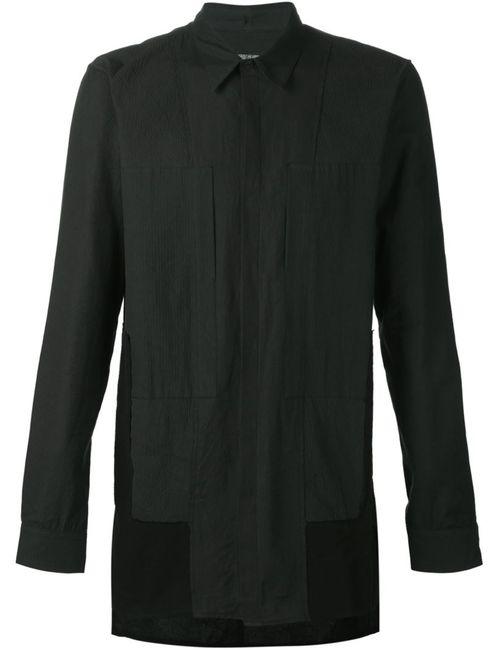 ALEXANDRE PLOKHOV | Мужская Черный Рубашка С Панельным Дизайном