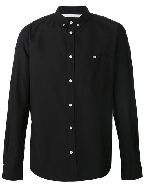 Norse Projects | Мужская Чёрная Рубашка Anton