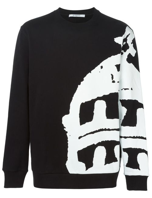 Givenchy | Мужское Черный Abstract Print Sweatshirt
