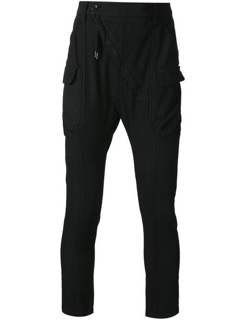 ALEXANDRE PLOKHOV | Мужское Черный Slim Fit Cargo Trousers