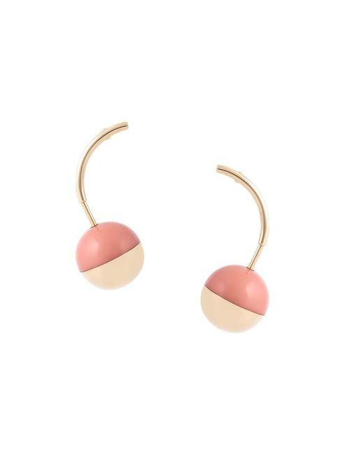 Marni | Женское Розовый Round Pendant Earrings