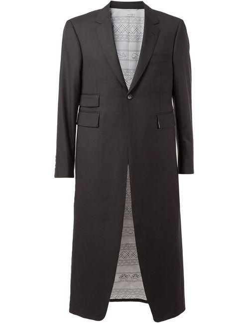 Thom Browne | Мужское Черный Длинное Пальто
