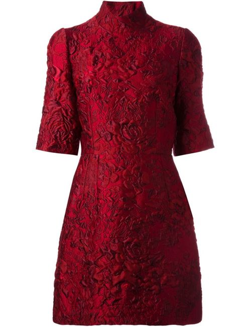 Dolce & Gabbana | Женское Красный Jacquard Mini Dress