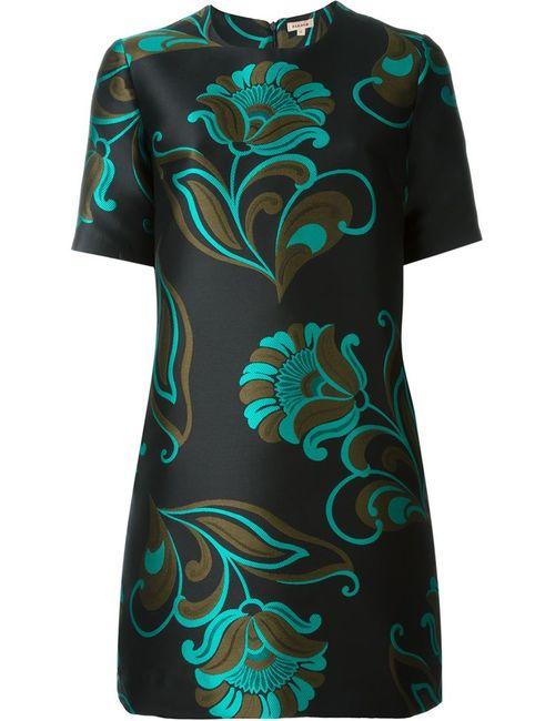 P.A.R.O.S.H. | Женское Чёрный Print Dress