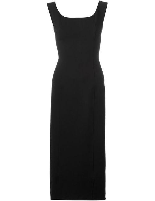Antonio Marras | Женское Черный Платье С V-Образным Вырезом На Спине