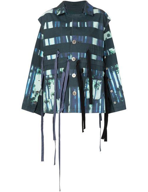PETRA PTACKOVA   Женская Многоцветная Куртка С Полосатым Принтом