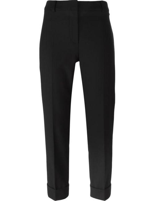 Max Mara | Женское Чёрный Slim Fit Cropped Trousers