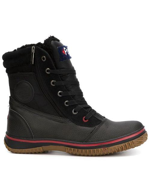 Pajar | Мужские Чёрные Ботинки На Шнуровке Trooper