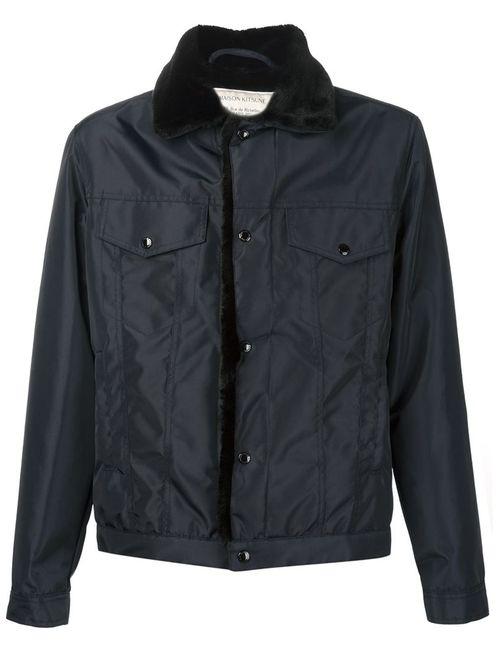 Maison Kitsune | Мужское Синий Maison Kitsuné Waterproof Trucker Jacket