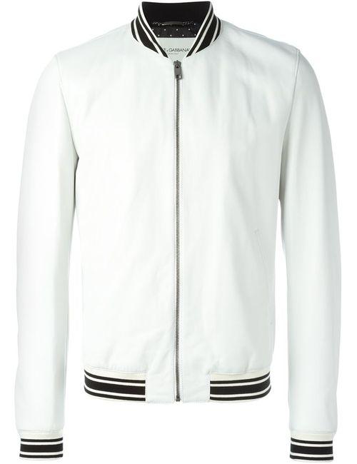 Dolce & Gabbana | Мужское Белый Classic Varsity Jacket