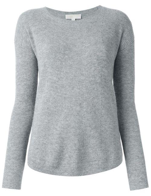 Michael Michael Kors | Женское Серый Scoop Neck Sweater