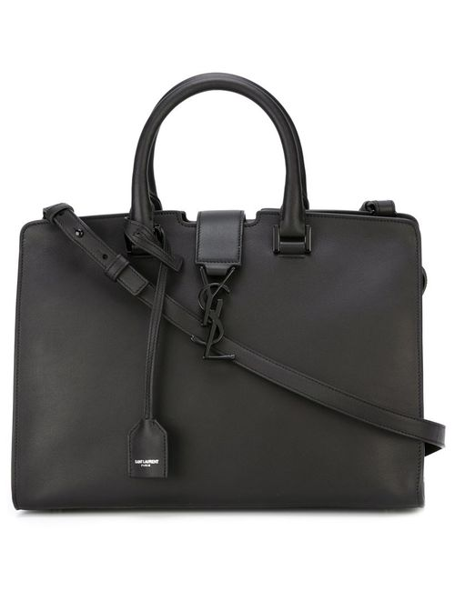 Saint Laurent | Женское Черный Small Cabas Monogram Tote