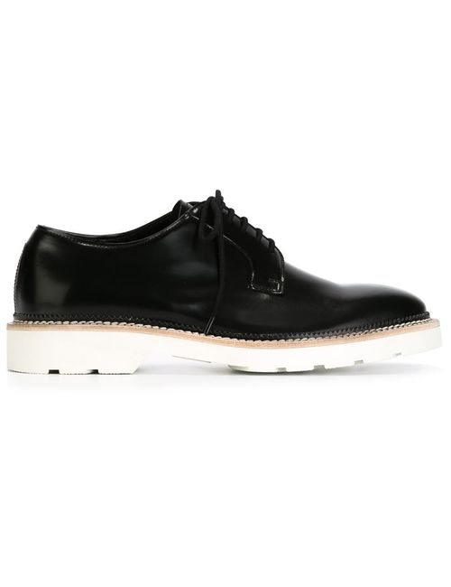 Alexander McQueen | Мужское Черный Contrast Sole Derby Shoes