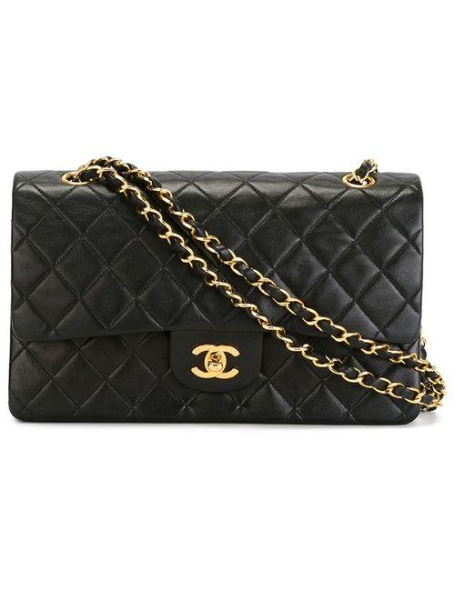 Chanel Vintage | Женская Чёрная Сумка На Плечо 2.55