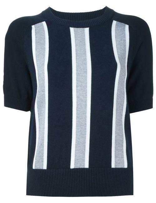 Michael Michael Kors | Женское Синий Vertical Stripe Sweater
