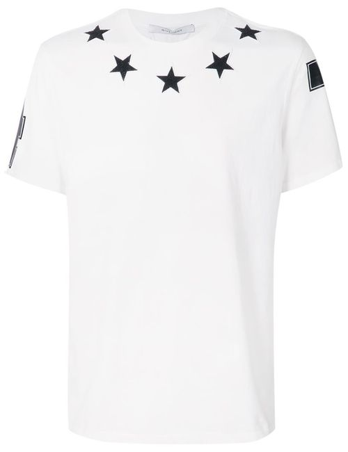 Givenchy | Мужское Белый Star Patch T-Shirt