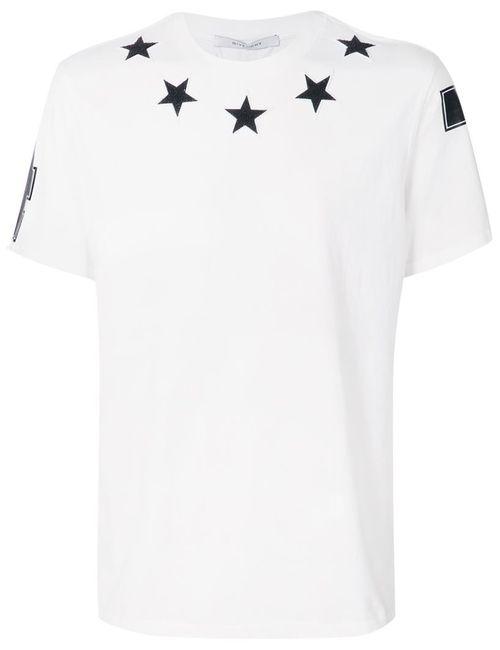 Givenchy | Мужское Белый Star Patch T-Shirt