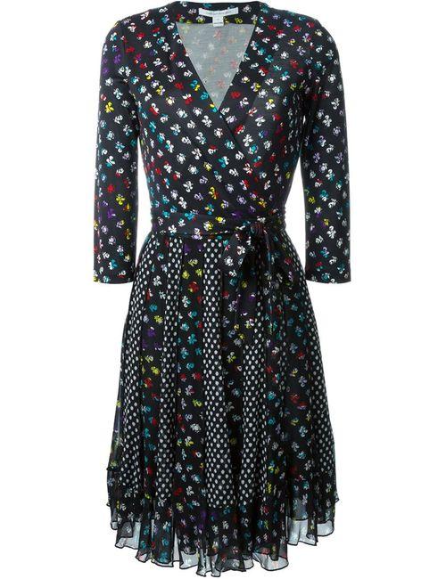 Diane Von Furstenberg | Женское Чёрное Платье Caprice