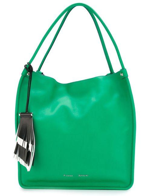 Proenza Schouler | Женское Зелёный Tassel Detail Shopper Tote