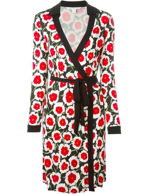Diane Von Furstenberg | Женское Белый Print Wrap Dress