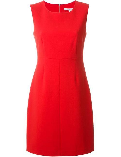 Diane Von Furstenberg | Женское Красное Платье-Футляр Carrie