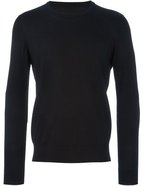 Maison Margiela | Мужское Чёрный Elbow Patch Sweater