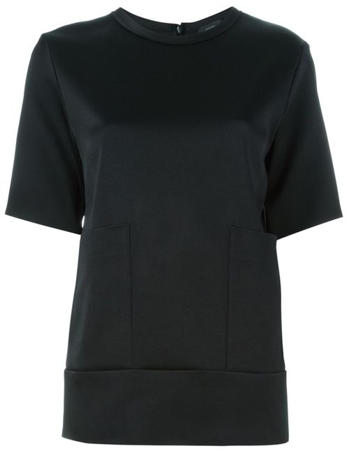 Joseph   Женское Черный Patch Pocket T-Shirt