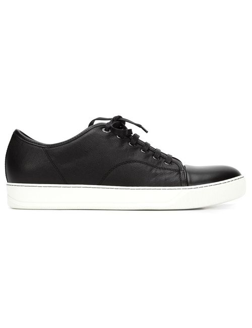 Lanvin | Мужское Чёрный Classic Lace-Up Sneakers