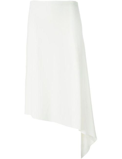 Joseph | Женская Белая Юбка Асимметричного Кроя