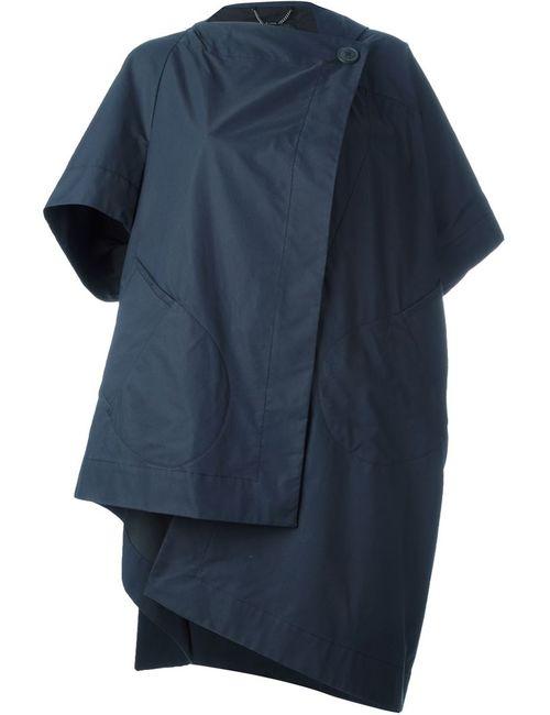 Vivienne Westwood Anglomania | Женское Синее Пальто Асимметричного Кроя