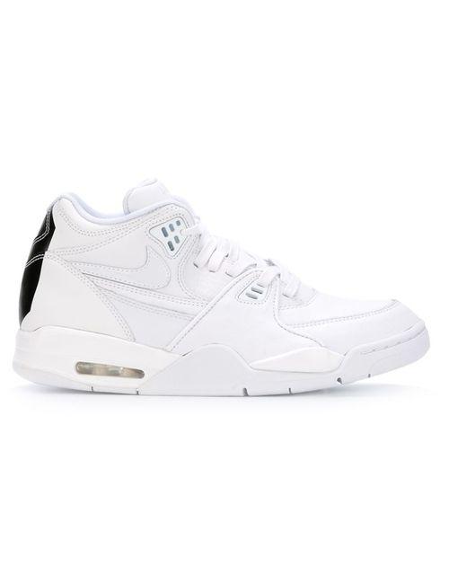 Nike   Женские Белые Кроссовки Air Flight 89 Le Qs