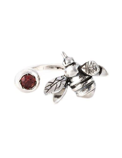 MARIA TERESA SOTTILE   Женское Серебристый Bee Double Ring