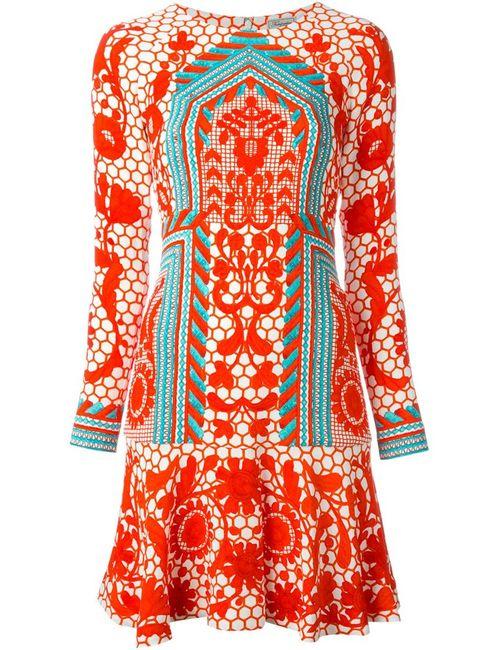 Temperley London | Женское Красное Платье Tishka