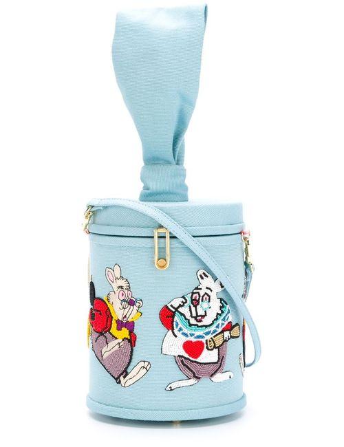 Olympia Le-Tan | Женское Синий Rabbit Shoulder Bag