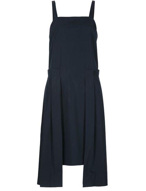 ALEXANDRE PLOKHOV | Женское Синее Платье С Плиссировкой