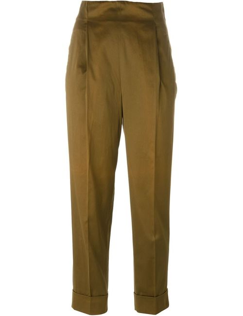 ROMEO GIGLI VINTAGE | Женское Коричневый High-Waisted Trousers