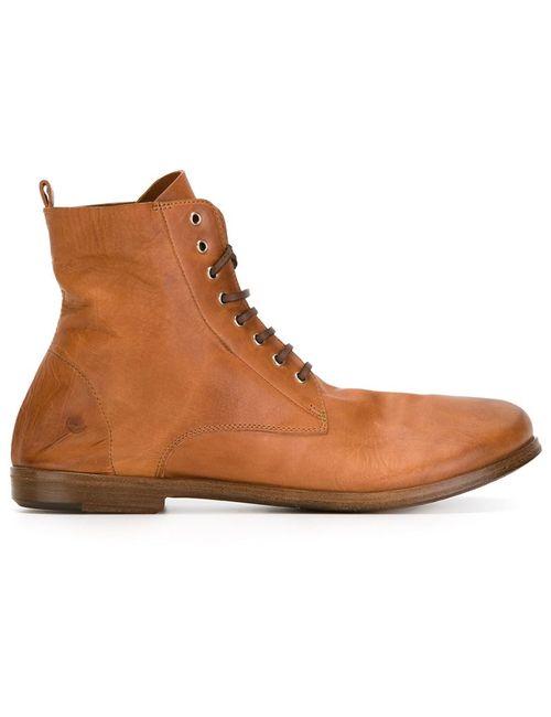 Marsell | Женские Коричневые Ботинки На Шнуровке