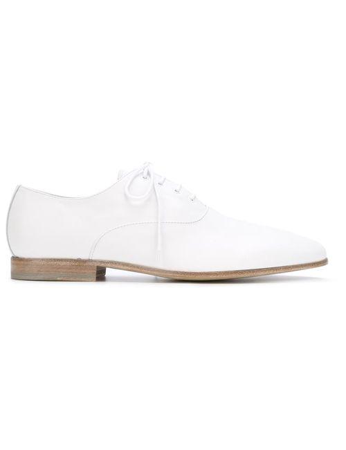Alexander McQueen | Мужские Белые Туфли Дерби