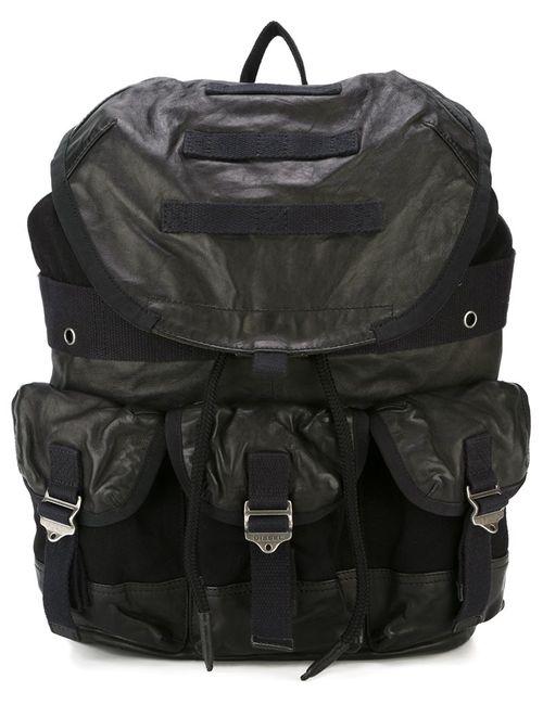 Diesel | Мужской Чёрный Рюкзак L-Breaking Back