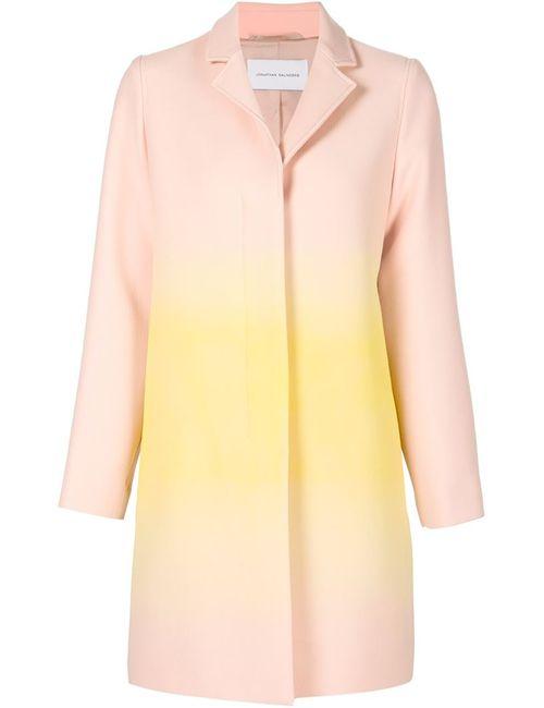 Jonathan Saunders | Женское Розовое Пальто С Градиентным Принтом