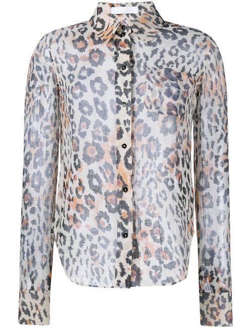 Chloe   Женское Коричневый Leopard Print Shirt