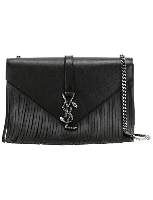 Saint Laurent | Женское Чёрный Monogram Shoulder Bag
