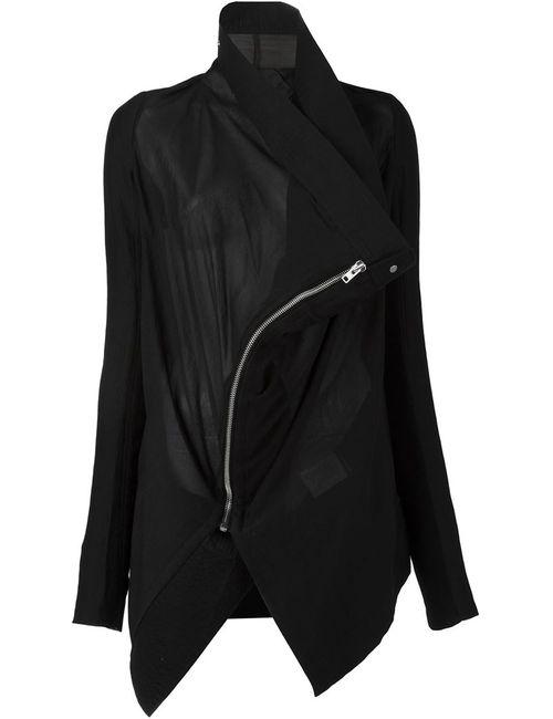Rick Owens | Женская Чёрная Куртка Exploder Saturn