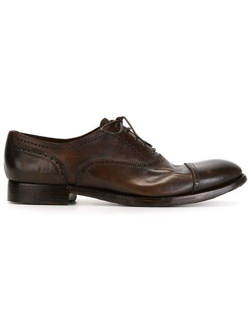 Silvano Sassetti | Мужские Коричневые Туфли Броги