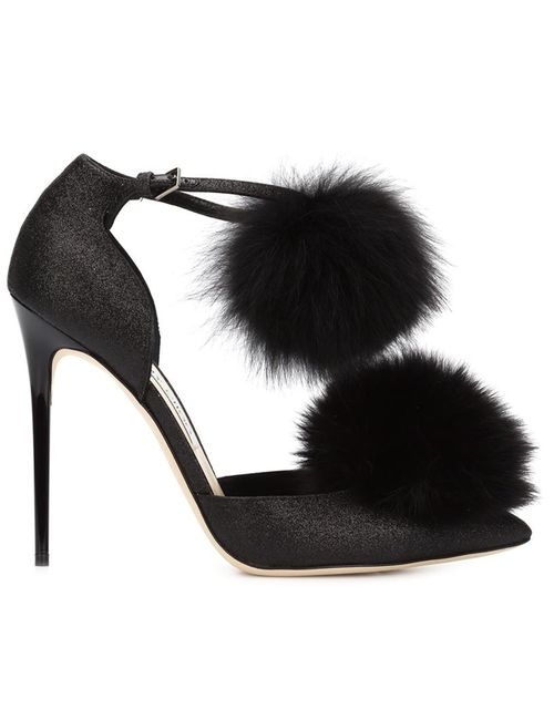 Jimmy Choo | Женские Чёрные Туфли Dolly 110