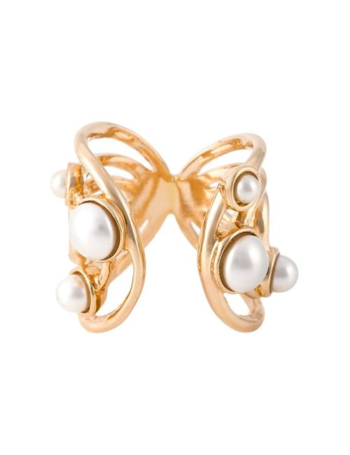 Eshvi | Женское Серебристый Astro Ring