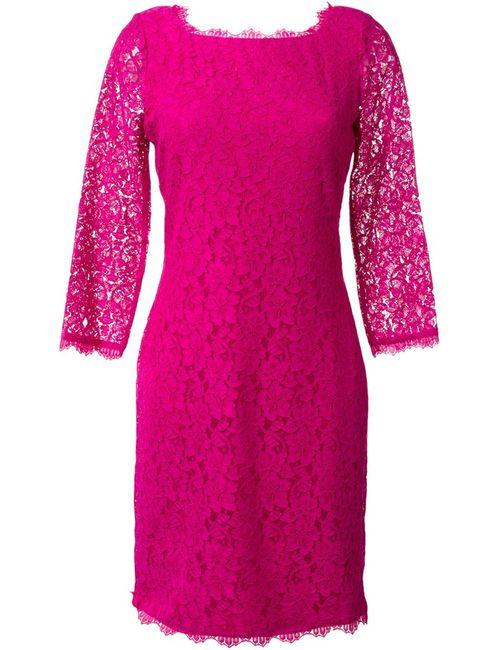 Diane Von Furstenberg | Женское Розовое Платье Zarita